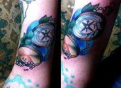 Znalezione obrazy dla zapytania tatuaż kompas