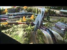 N scale Model Train Layout N gauge N Scale Model Trains, Model Train Layouts, Scale Models, Graham Model, Garden Railroad, Train Table, Train Set, Ho Scale, Scenery