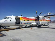 ATR-72/600 de Air Nostrum en Malaga, foto de @amdelcas