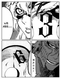 I'm so hype when these two badass espada returned, and they're not mayuri's zombies, wish the manga has a more spot for them, especially grimmjow