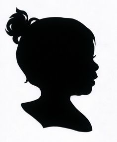 Silhouette Portrait Package Add-on Digital Image. via Etsy.