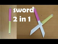 How to Make origami Weapons Instructions . Elegant How to Make origami Weapons Instructions . the Paper Sword Far Cheaper and Much Safer Treepress Origami Knife, Instruções Origami, Paper Crafts Origami, Origami Design, Origami Airplane, Origami Quilt, Origami Hearts, Origami Boxes, Dollar Origami
