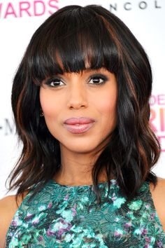 Bold in Brown: The 30 Most Brilliant Brunettes - Kerry Washington