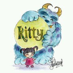 Disney Dream, Disney Love, Disney Magic, Disney Art, Disney Stuff, Monsters Inc Boo, Disney Monsters, Disney And Dreamworks, Disney Pixar