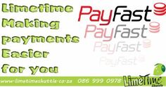NOW making the payment method more convenient for our clients via PayFast…