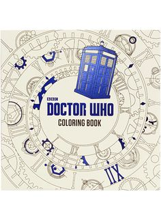 Doctor Who Coloring Book at PLASTICLAND