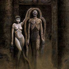 Joseph Vargo - Egyptian mummy