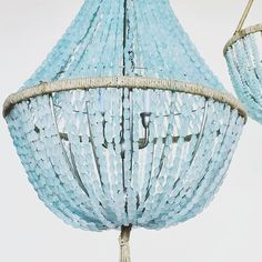 Celeste - Sea Glass Empire Chandelier Nuggets