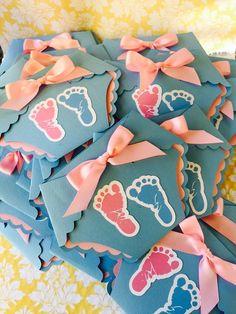 Diaper invitations Gender Reveal Baby by PaperDivaInvitations