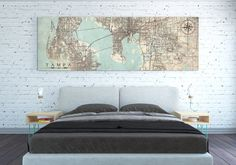 Map Of Tampa Florida.261 Best Tampa Impression Art Architecture Skyline And Maps