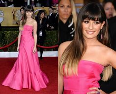 Lea Michele Ombre Hair Style. She has beautiful hair.