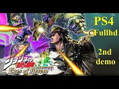 JoJo's Bizarre Adventure: Eyes of Heaven [PS4] [FULLHD] - 2nd Demo