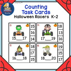 by Learning Harbor™ Resources for Teachers  for Grade K - 2                                                                Counting Task Car...