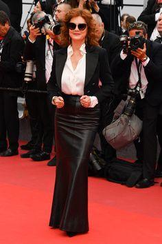 Escotazos y sensualidad en la ceremonia inaugural del Festival de Cannes 2017 en el palacio de festivales de la Croisette.
