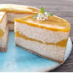 Mangós tejberizs torta Cheesecake, Desserts, Food, Tailgate Desserts, Deserts, Cheesecakes, Essen, Postres, Meals