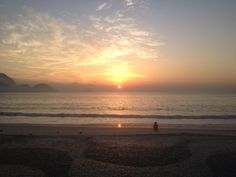 Copacabana , nascer do sol
