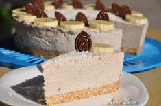 Cheesecake fara coacere cu banane