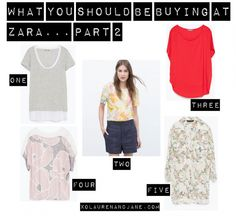What You Should Be Buying At Zara: Part 2