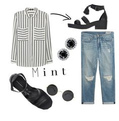 """""""'A moment of patience in a moment of anger saves a thousand moments of regrets' - (Ali ibn Talib)"""" by punkrockmeansfreedom ❤ liked on Polyvore featuring MANGO, Windsor Smith and rag & bone"""