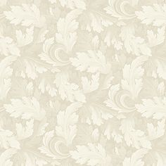 Twirling Leaves Beige