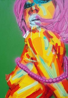 Vibrant Urban Portraits - Rowan Newton Dazzles With His Colorful Illustrations (GALLERY)