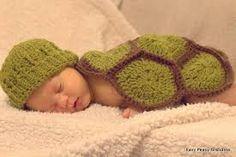 Crochet turtle pattern blanket and hat!!!