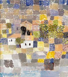 Sicilian Landscape (1924) Paul Klee (Swizterland 1879-1940)