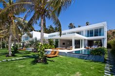oceanique villas by MM++ architects open onto beach in vietnam