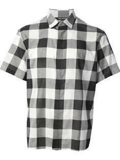 Neil Barrett - checked shirt 6