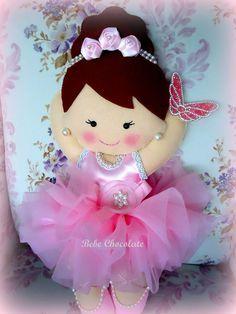 felt ballerina, keçe balerin takı yastığı, balerin, yastık, felt ballerina dolls, felt ballerina pillow