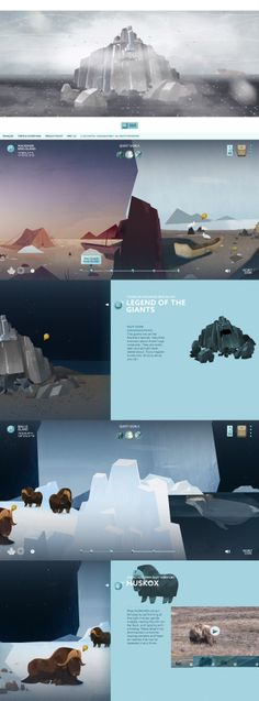 Heart of the Arctic \\ Really cool childish experiment. http://heartofthearctic.ca