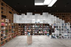 Completed in 2015 by SoNo Arhitekti in Italy. Images by Žiga Lovšin. The design won the prize in the invited architectural competition for the Slovenian book center in Trieste, Italy. Trieste, Bookstore Design, Library Design, Library Architecture, Interior Architecture, Interior Design, Shelving Systems, Best Architects, Retail Interior