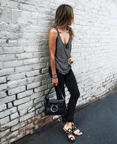 fashion looks pretos lindos 17