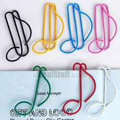 Music Note Paper Clips!! I need these for music class and chorus!!!!!!!!!!!!!!!!!!!!!!!!