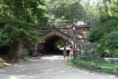 NYC - Central Park: Greywacke Arch