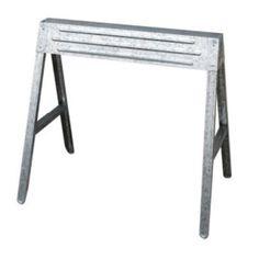Shop Task Force Folding Steel Adjustable Sawhorse At Lowescom 3000
