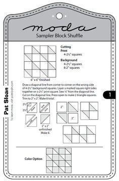 Moda Sampler Block Shuffle