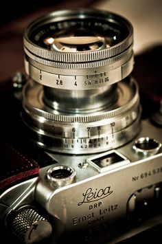 Just the most beautiful cameras I've ever seen; Leica <3