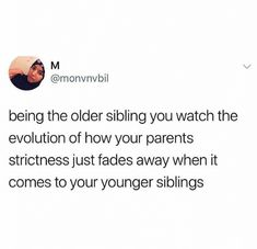 What an older sibling sees: 21 Pictures That Are Way, Wayyyyy Too Real For People With Siblings How true. Real Quotes, Fact Quotes, Tweet Quotes, Mood Quotes, Siblings Funny, Sibling Memes, Sibling Quotes, Older Siblings, Really Funny Memes