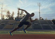 Ashton Eaton, Allyson Felix & Mo Farah Train in the Nike Flyknit Lunar2