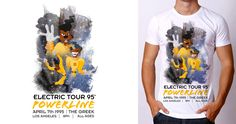 Powerline Live in 95 on Threadless