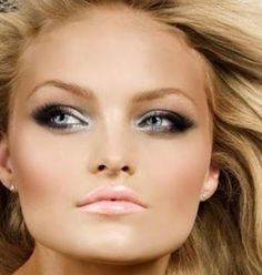 ♡ Gorgeous makeup for blue eyes.
