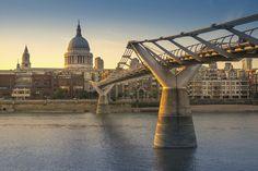 10Best: Beautiful Bridges: Slideshows Photo Gallery by 10Best.com - Millennium Bridge, London