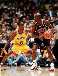 Michael Jordan Chicago Bulls Kobe Bryant Los Angeles Lakers