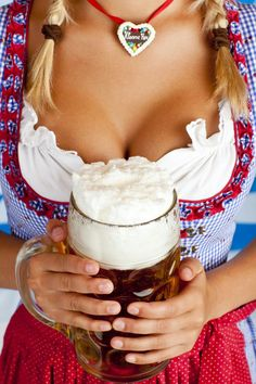 Oktoberfest is the biggest festival in the world. This is a list of the ten best places to celebrate Oktoberfest in the U. Octoberfest Girls, Beer Maid, Beer Girl, German Beer, Beer Festival, Dessert, Beer Lovers, Gaudi, Home Brewing