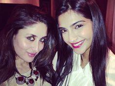 Sonam and kareena