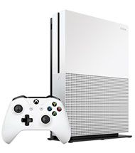 Introducing the Xbox One S. Play the greatest games lineup, including Xbox 360 classics, on a 40% smaller console. Experience richer, more luminous colors in games and video with High Dynamic Range. Stream 4K video on Netflix and Amazon Video, and watch UHD Blu-ray movies in stunning 4K Ultra HD. Then get the enhanced comfort and feel of the Xbox Wireless Controller, featuring textured grip and Bluetooth.*