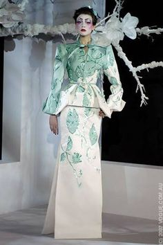 All the runway looks from Christian Dior: Paris Haute Couture Spring/Summer 2007
