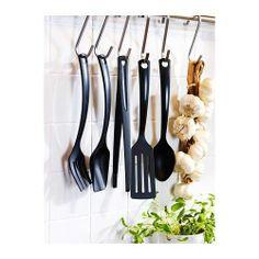 GNARP 5-piece kitchen UTENSIL SET, Black NEW IKEA #IKEA