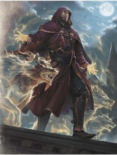 Edwin (Heroes of Baldur's Gate) Fantasy Warrior, Fantasy Male, Fantasy Rpg, Fantasy Wizard, Dark Fantasy Art, Fantasy Artwork, 3d Artwork, Male Character, Character Portraits